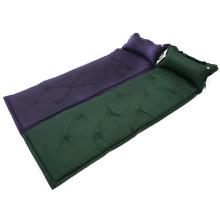 Portable Self-Inflating Aufblasbare Air Matratze Outdoor Bett + Kissen Camping Mat