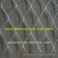 Hot sale anping KAIAN galvanisé à trous de diamant