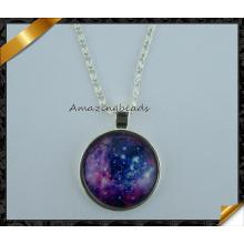Ювелирные изделия оптом моды дизайн сплава звездного неба подвески (FN033)