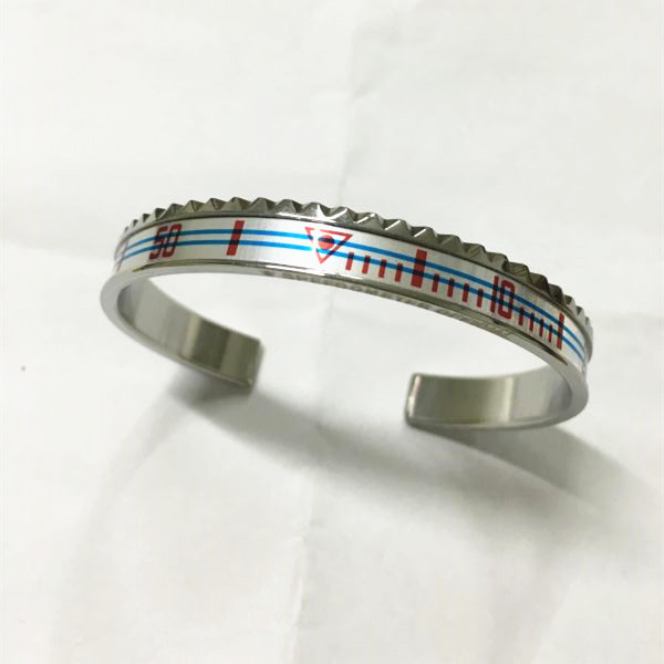 Ghost Speedometer Bangle Bracelet