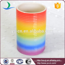 YSb40001-01-t Rainbow bathroom accessory tumbler