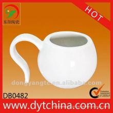 Fábrica direta atacado 125cc copos de cerâmica para chá