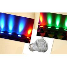 Горячая продажа GU10 / MR16 SMD3030 Литье под давлением алюминиевого колпачка светодиодной лампы