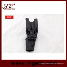 Coldre militar Blackhawk sob camada cintura P226 arma coldre preto
