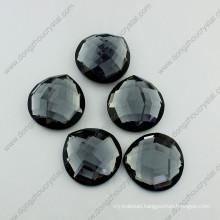 Glass Mirror Flatback Rhinestone (DZ-1171)