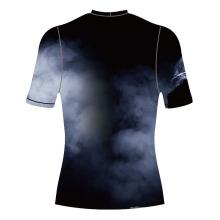 Protetor de prurido completo de camisa sublimada de ginásio ativo