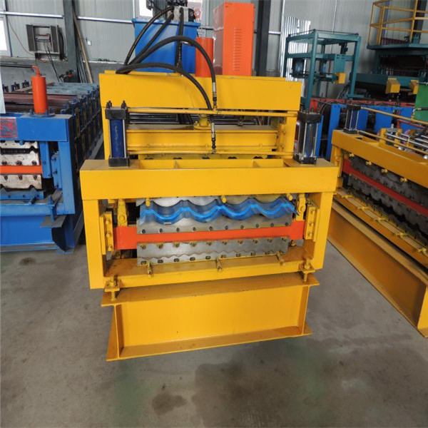 Color Coated Roll Forming Machine