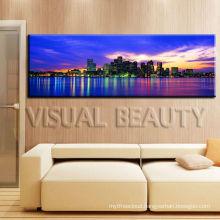 New York City Skyline Panoramic Cityscape Modern Canvas Art