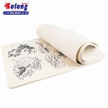 Accessoires de tatouage Solong tigre et poisson peau de pratique de tatouage maquillage permanent