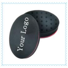 Schwarzen Twist Haarbürste für Dreadlocks Twist Curl, kleine ovale Form EVA Sponge Schwamm