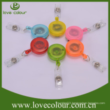 Popular Custom yoyo translucent plastic badge reel