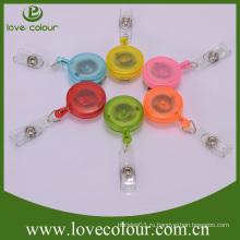 Популярный пользовательский прозрачный пластиковый бейдж yoyo