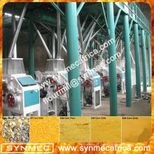 planta de processamento completa dos grãos de milho para venda