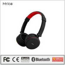 Mrice новый продукт bluetooth наушники стерео гарнитура с усилителем мощности