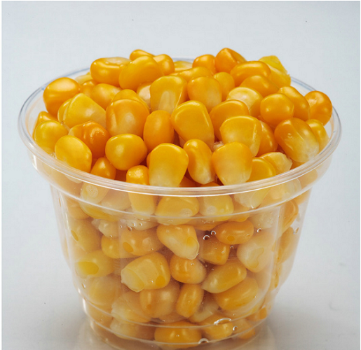 Ball Dices Particle Frozen Corn Kernels