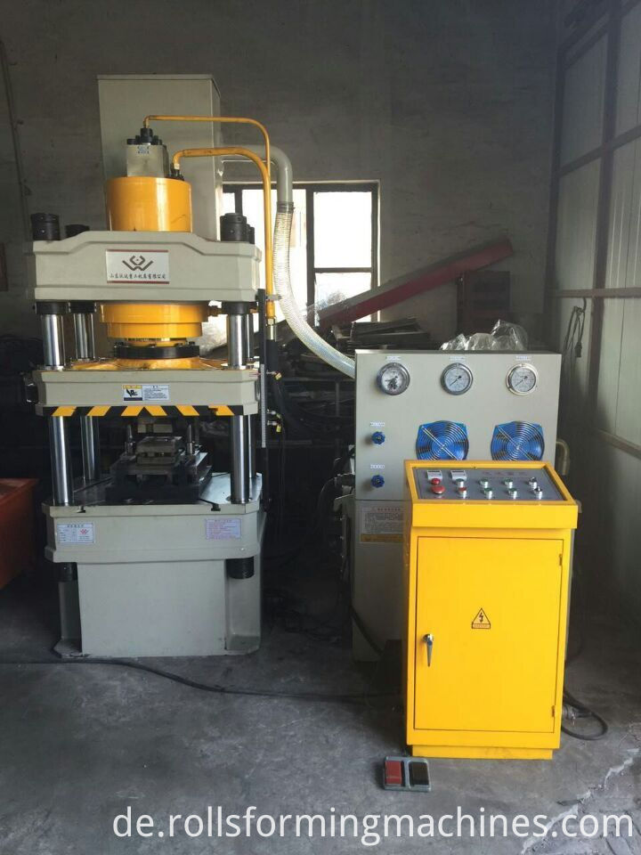 Punching machine for 3.8mm plate