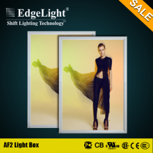 Edgelight Quality Warranty snap frame led acrylic wholesale led lighting boxes with high lumen for sales
