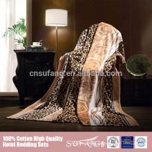 Cobertores super pesados super macios de pelúcia super king size