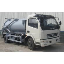 dongfeng duolika 5m3 boue d'aspiration camion