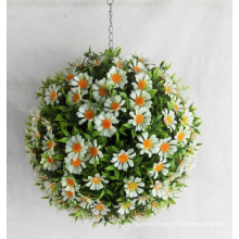 Beautiful cheap colorful artificial flower ball for decoration home