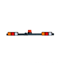 12/24V IP65 Multi-functions LED Warning Signal Mining Light Bar for heavy duty vehicle 1.2m