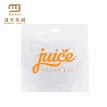 fabricante de saco de bioplástico transparente para fazer compras