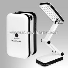 Lâmpada de mesa de LED, novo design
