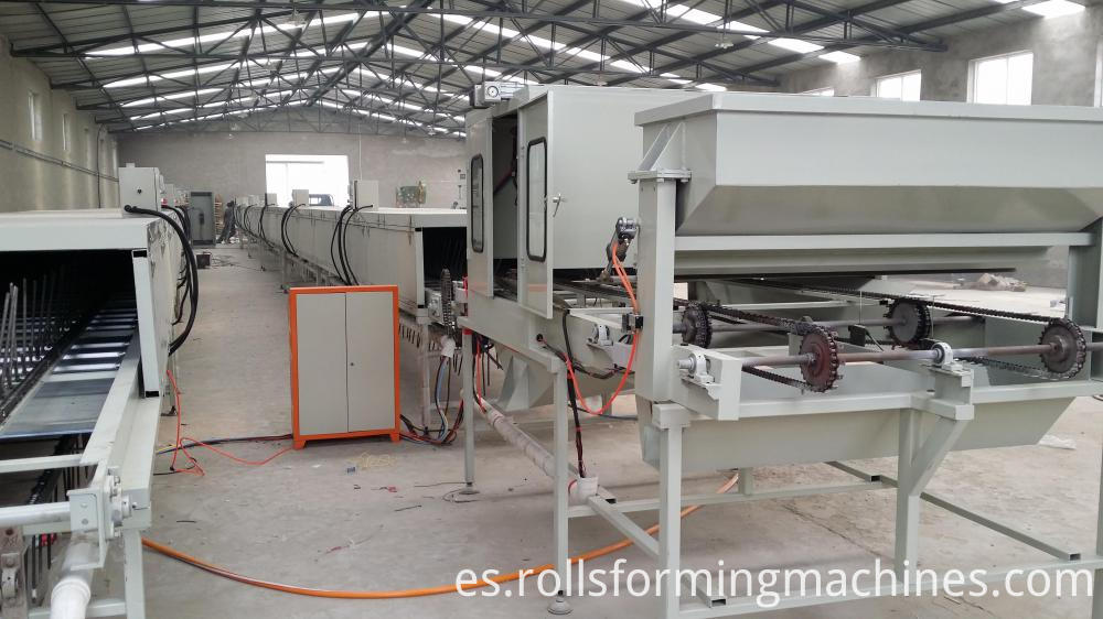 Stone Coated Roof Production Line for Stone Coated Metal Roof Tile Machine
