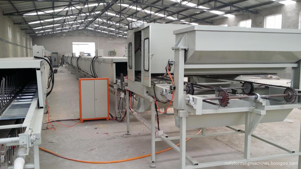 Stone Chip Coated Roofing Tile Machine