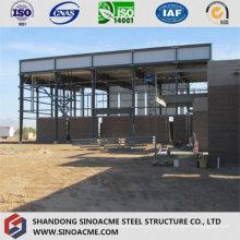 Современные выставочные здания стальной структуры с галереей