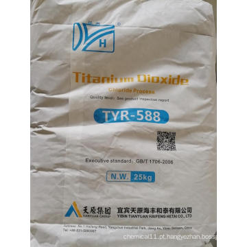 Grau de rutilo de dióxido de titânio