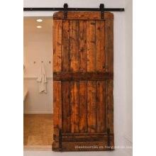 Puerta corrediza MID-Bar, puerta corrediza de estilo compuesto y riel