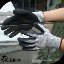 SRSAFETY упорные 5-уровневые перчатки резиновые защитные перчатки