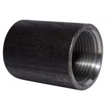 Black Heavy Steel Coupling