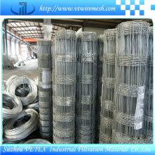 Clôture de fil de prairie d'acier de Vetex