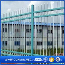 New design power coated palisade fence sales