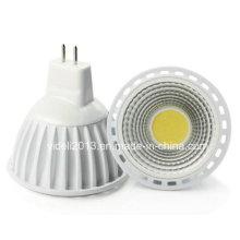 MR16 5W 1xcob 450lm Blanc 6000-6500k LED Spot Lights (DC 12V)