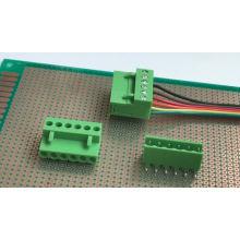 Blocos de terminais plugáveis de PCB de passo de 3,96 MM