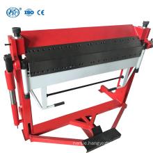 WH06-1.5x3050 Galvanized sheet Manual Folder Machine stainless