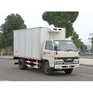 JMC cargo van truck with refrigeration for sale