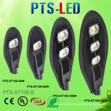 30W 50W 100W 150W sin conductor AC COB LED alumbrado publico con 100lm/W