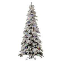 Snowy Artificial Árbol de Navidad con decoración de vidrio Craft Navidad Luz (TU70.250.01)