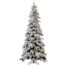 Snowy Artificial Christmas Tree with Decoration Glass Craft Christmas Light (TU70.250.01)