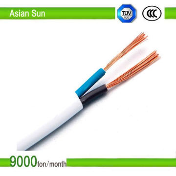 Twin Flat Copper Conductor Electric Cable Wire BS6004