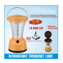 Emergency Auto LED Outdoor Camping Solar Lantern