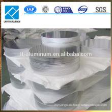 1050 1060 1070 círculos de aluminio de acero inoxidable con precio de fabricante
