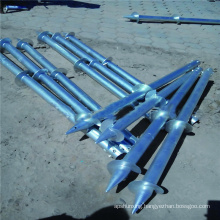 No Dig Metal Fence Post Ground Anchor