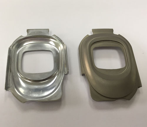 Liquid Metal Watch Plate