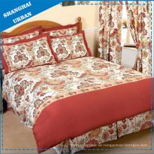 4PCS Baumwolle Polyester Bettbezug Set