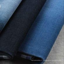 En gros Indigo Yarn Denim Fabric pour pantalon